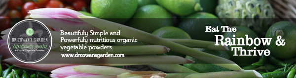 Dr. Crown's Garden. Beautifully simple and powerfuly nutritious organic vegetable powders