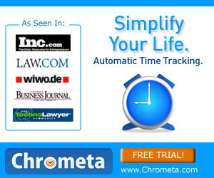 Chrometa Automatic Time Tracking